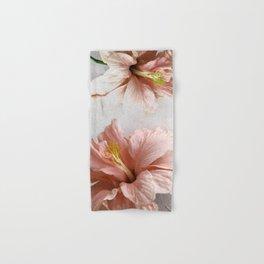 Blossom, Pink Flowers Hand & Bath Towel