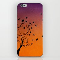 dream catcher iPhone & iPod Skins featuring Dream Catcher. by Nancy Woland