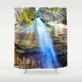 Pams Grotto Shower Curtain