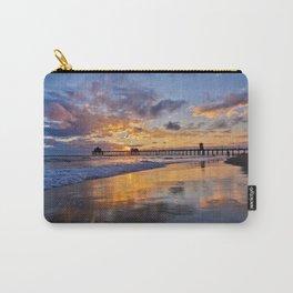 Huntington Beach Sunsets  9/14/15 Carry-All Pouch