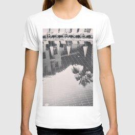 Palm Tree reflection T-shirt