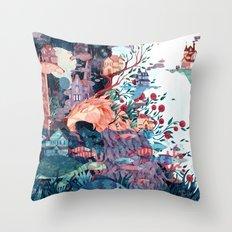 Cosmic neighborhood Throw Pillow