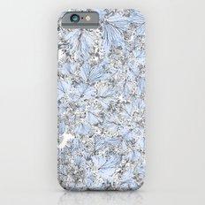 BLUE FLOWERS Slim Case iPhone 6s