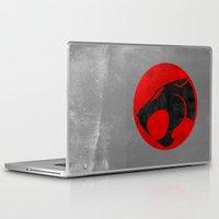thundercats Laptop & iPad Skins featuring Thundercats (Super Minimalist series) by Itomi Bhaa