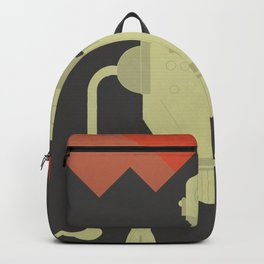 The Iron Giant, classic cartoon, minimal movie poster Backpack
