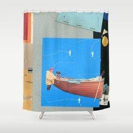 Aquatic Huntsman Shower Curtain