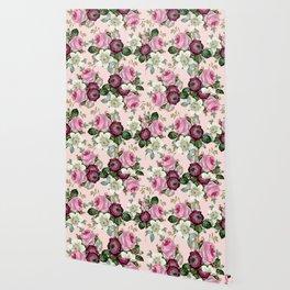 Floral enchant - blush Wallpaper