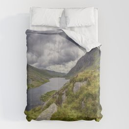 Tryfan and Lake Ogwen Comforters