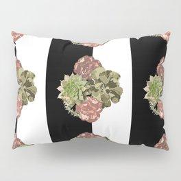 When Floral Meets Succulent Pillow Sham