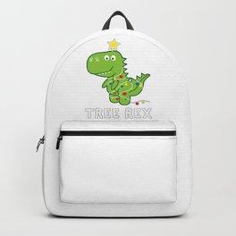 Dinosaur Tree Rex Xmas Backpack