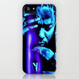 heavy black heart (Lamar) iPhone Case