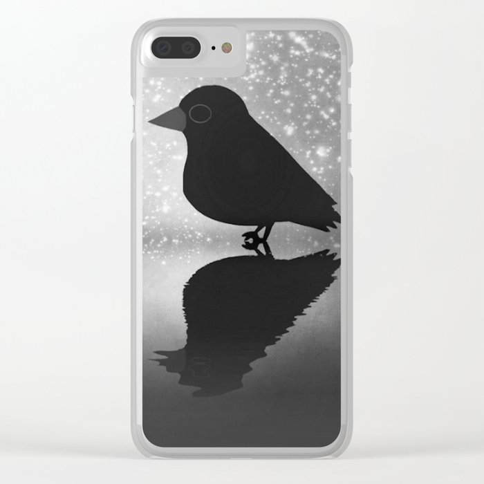 Crow-82 Clear iPhone Case