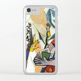 Mixed Picasso · 3 Clear iPhone Case
