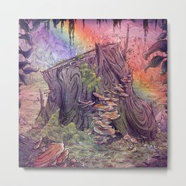 The Magic Stump Metal Print