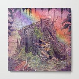 The Magic Stump Metal Print