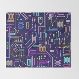 Circuits Throw Blanket