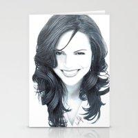 Stationery Cards featuring lana I by Sarah Krafft - @laurenarah (IG)