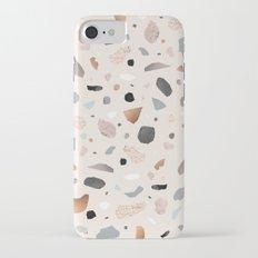 Terrazzo Stone Confetti blush iPhone 7 Slim Case