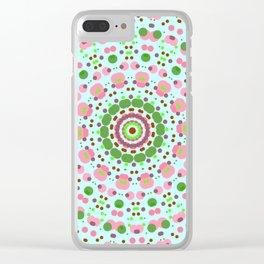 mandala2 Clear iPhone Case