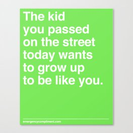 That Kid Canvas Print