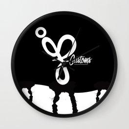 JP Customs  Wall Clock