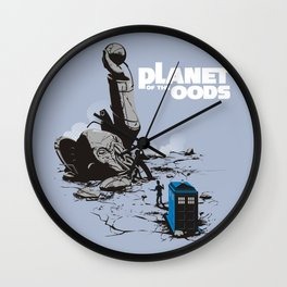 PLANET OF THE OODS Wall Clock