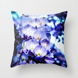 Flowers magic 2 Throw Pillow