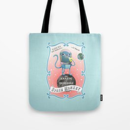 The Amazing Space Monkey Tote Bag