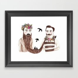 Together Framed Art Print