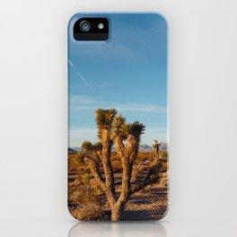 Nevada Desert Sunrise III iPhone Case