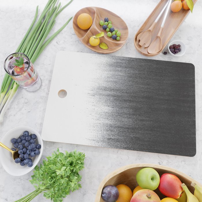 Charcoal Ombré Cutting Board