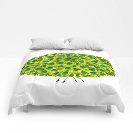 Poofy Pineapple Comforters