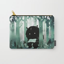 A Quiet Spot (in green) Carry-All Pouch