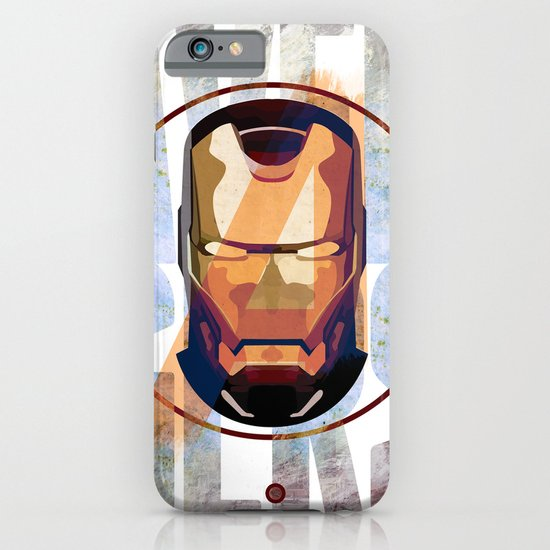Avengers : IRON MAN print  iPhone & iPod Case