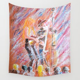 I Love Bluegrass Pastel Painting Wall Tapestry