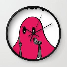 THE WORST HORROR Wall Clock