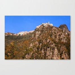 French mountain village 5358 Canvas Print