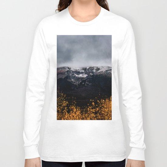 Yellow Tree Moutain Long Sleeve T-shirt