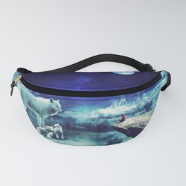 Wolf Family(pack) - Fantasy Photo Manipulation Fanny Pack