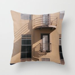 Urban Shadow Play Throw Pillow