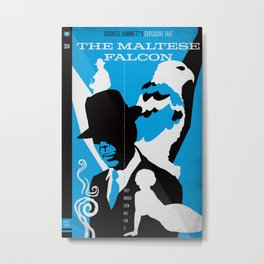 Hardboiled :: The Maltese Falcon :: Dashiell Hammett Metal Print