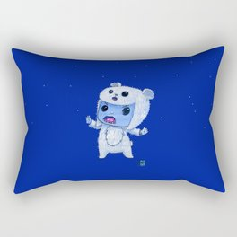 Moonkhin Iridum Snow Rectangular Pillow