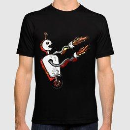 Flamethrower Bot T-shirt