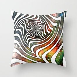 Pouring Dimensions into the Distal Void Throw Pillow
