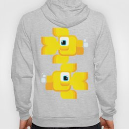 A happy bunch of goldfish swimming and blowing bubbles! Hoody