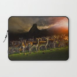 Group of deer Laptop Sleeve