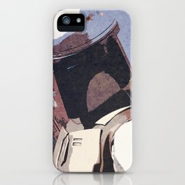 Bobba Fett | The Bounty Hunter | Star War Art iPhone Case