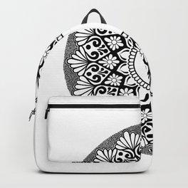 Mandala B&W Backpack