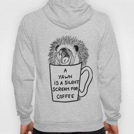 Hedgehog & coffee Hoody