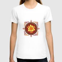 Nordic Valknut T-shirt